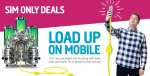 30-day 4G SIM only deal, 4GB of data, 1500 minutes, unlimited texts, per month @ Plusnet Mobile (need to buy until the 4th of January 2017)