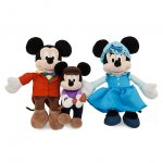 Mickey Mouse Christmas Carol Soft Toy Bundle