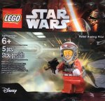 Free Lego Rebel A-wing Pilot Minfigure min spend