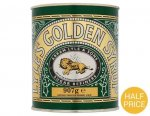 Lyle's Golden Syrup (907g) (+ £1.00 off from Checkoutsmart) so 90p @ Sainsbury's