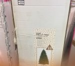 House of Fraser artificial Christmas trees. 7ft tree