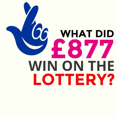 I've spent £877 playing the lottery - guess how much I've won?