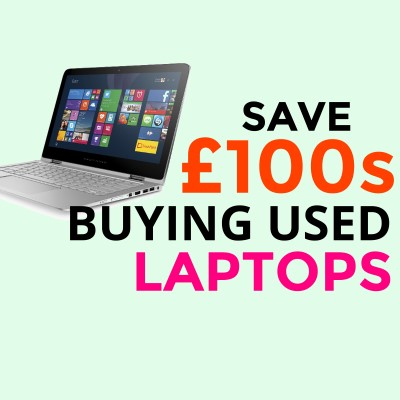 New laptop? Save £100s buying used instead