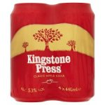 FREE 4 pack of Kingstone Press cider