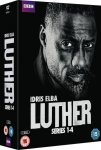 Luther Series 1-4 DVD Boxset @ HMV also same price at Amazon delivery is only free for prime customers