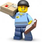 Free delivery on Lego on orders over (normally minimum spend is £50)