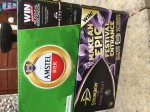 10 cans of Amstel lager and 10 cans of Strongbow Dark Fruit cider at Morrisons - £6 using CheckoutSmart