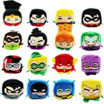 Official DC Comics Kawaii Cubes (small plush collectibles) each with code C&C