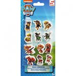 Pack of 12 Mini Paw Patrol Erasers C&C with code @ The Works (Party Bag Fillers?)