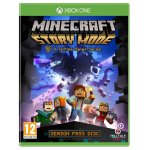 Xbox One Telltales Minecraft Story Mode Season Pass Disc