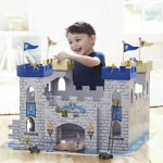 Universe of Imagination 2 in 1 Wooden Medieval Battle Castle + 34 Accessories Del @ Toys R Us (PLUS FREE Toy worth £10 today only)