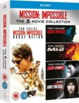 Mission Impossible - 1-5 Boxset Blu-ray