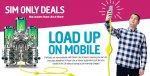 3GB Data + 500Mins & Unlimited Texts @ Plusnet (30 Day Sim Only Contract)