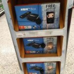 Now tv box with games of thrones pop figure Asda INSTORE