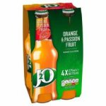 J2O Orange and Passion fruit a 4 pack