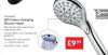 LED Colour Changing Shower Head - LIDL (Miomare) - No Batteries Needed (Just Water Pressure) - 3yr warranty