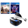 Sony PlayStation VR + Farpoint PS VR + VR Worlds with 2 years guarantee​