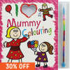 I Love Mummy Colouring Pad / I Love Daddy Colouring Pad inc. crayons with C&C @ The Works (Plus an all other Price Drops)
