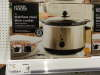 Asda 3l stainless steel slow cooker