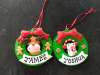 Poundland Personalised Name Christmas Tree Decorations £1