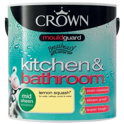 Homebase - Crown kitchen and bathroom 2.5l paint - £4.93 ...