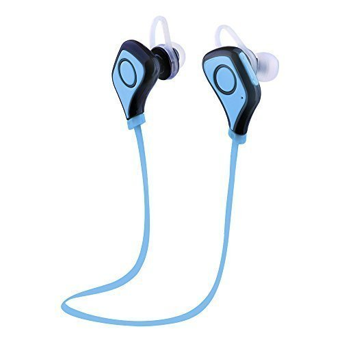 sunvito bluetooth 4 0 in ear headphone earphones earpiece for running exercise gym built in mic. Black Bedroom Furniture Sets. Home Design Ideas